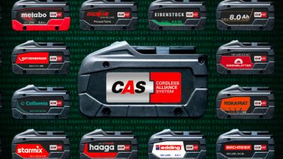 CAS – systém jedné baterie