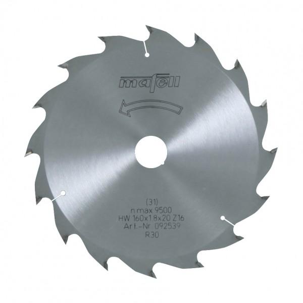 MAFELL Pilový kotouč-HM, 160 x 1,2/1,8 x 20 mm, Z 16, WZ