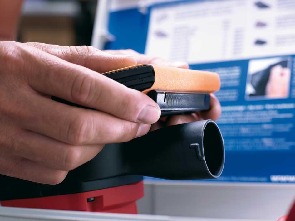 MAFELL Vibrační bruska UVA 115 E v T-MAX